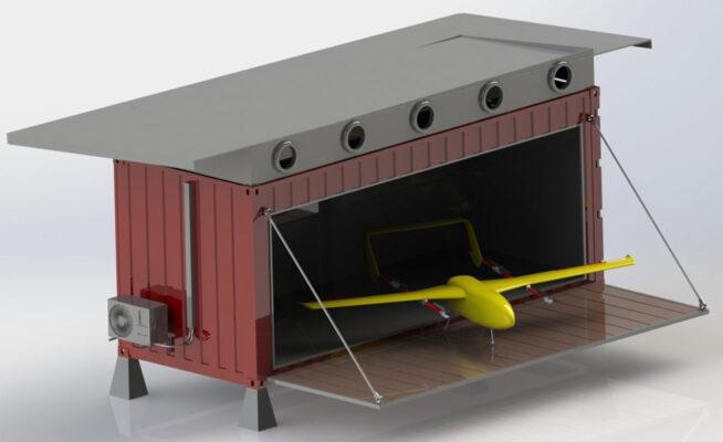 BSP Farada2 hangar
